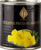 D-Jing Pineapple Pieces in Syrup 425g