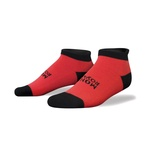 Mons Royale Ankle Sock - Ain't Pink/White