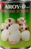 Aroy-D Quail Egg In Water 425gm