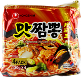 Nong Shim Champong Spicy Seafood Multi 130g x 4
