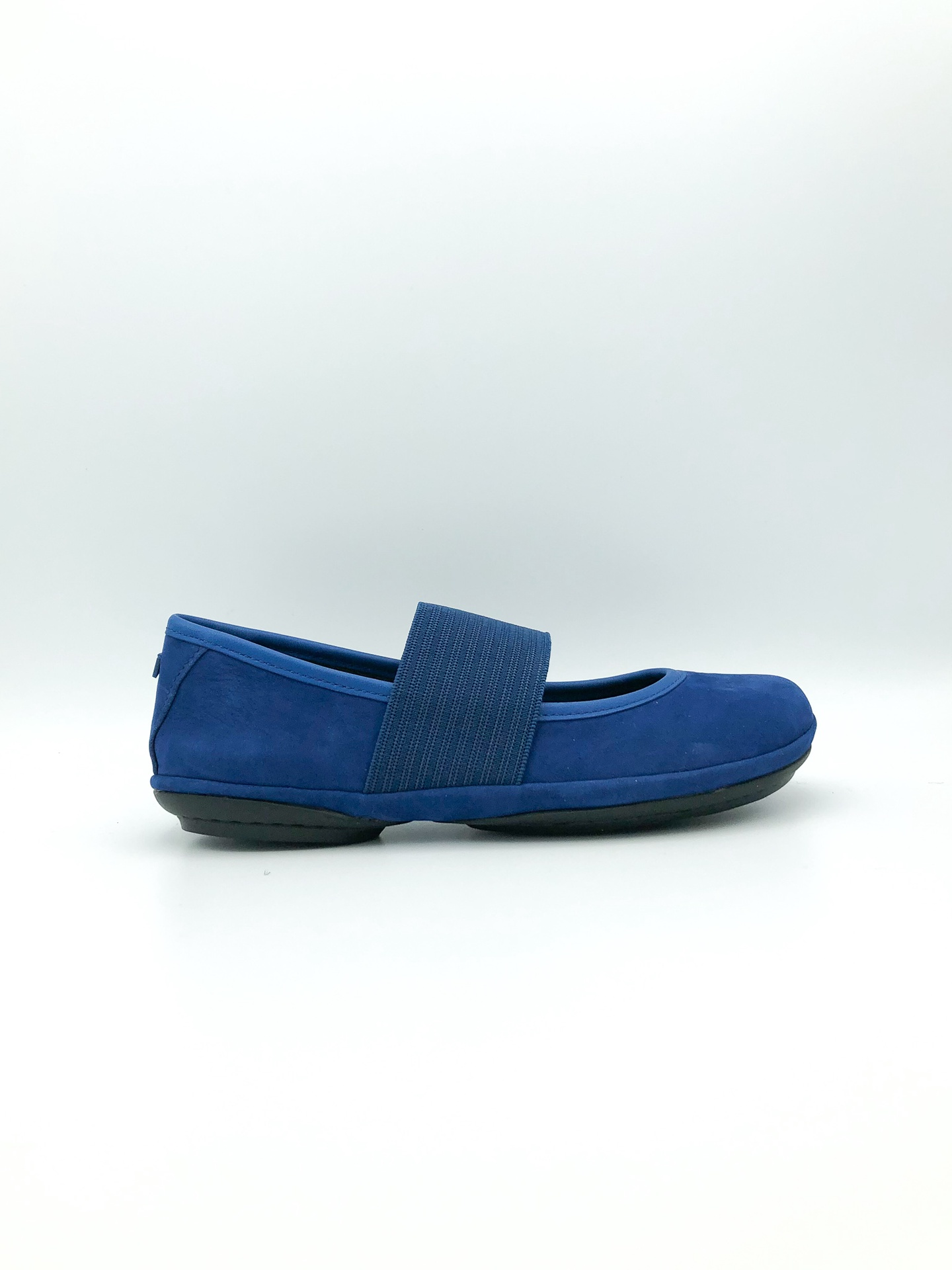 CAMPER - RIGHT NINA IN BLUE SUEDE 21595-129