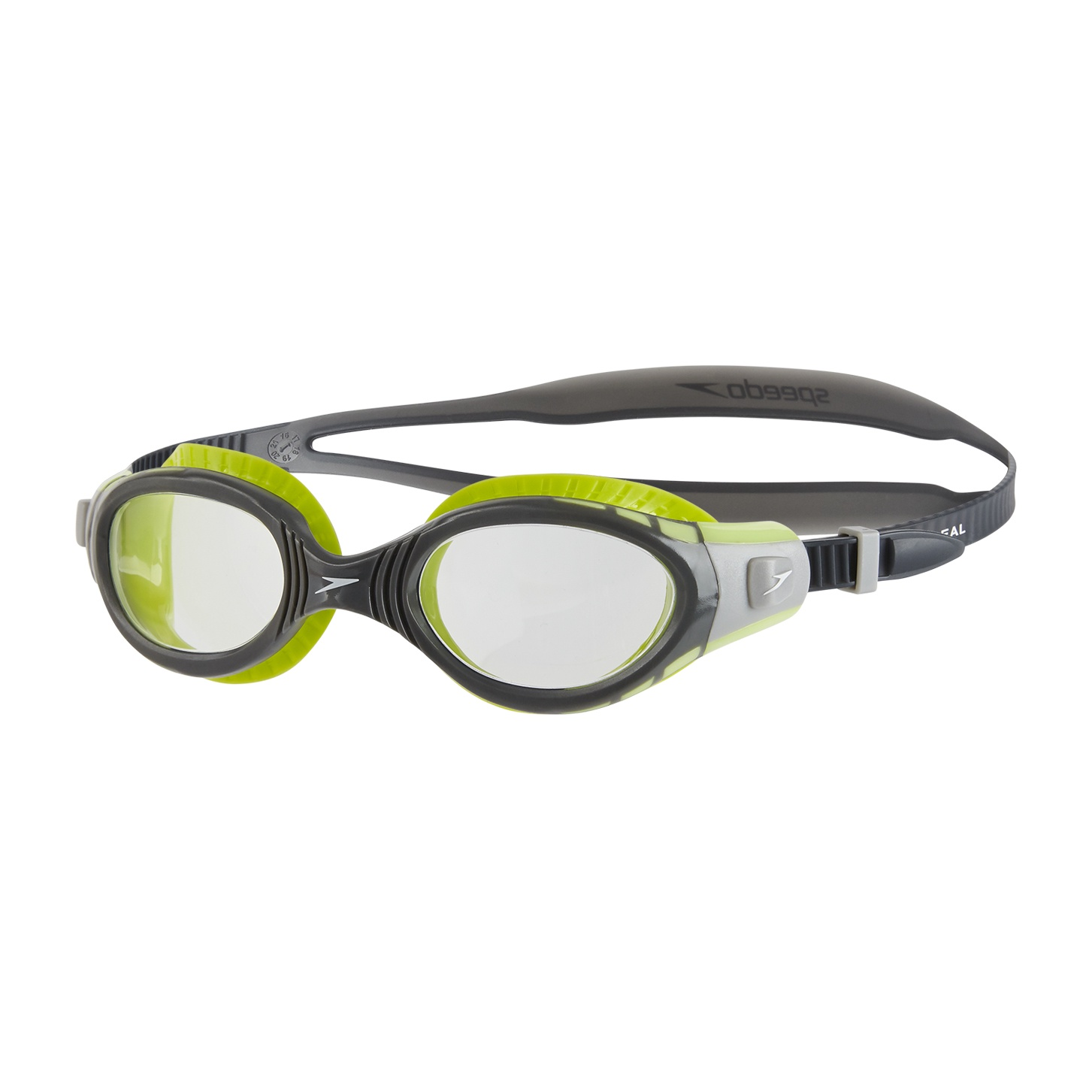 Futura Biofuse Flexiseal Goggles Lime/USA Charcoal/Clear