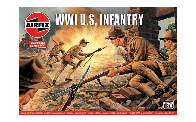 Airfix #A00729V 1/76 WWI U.S Infantry