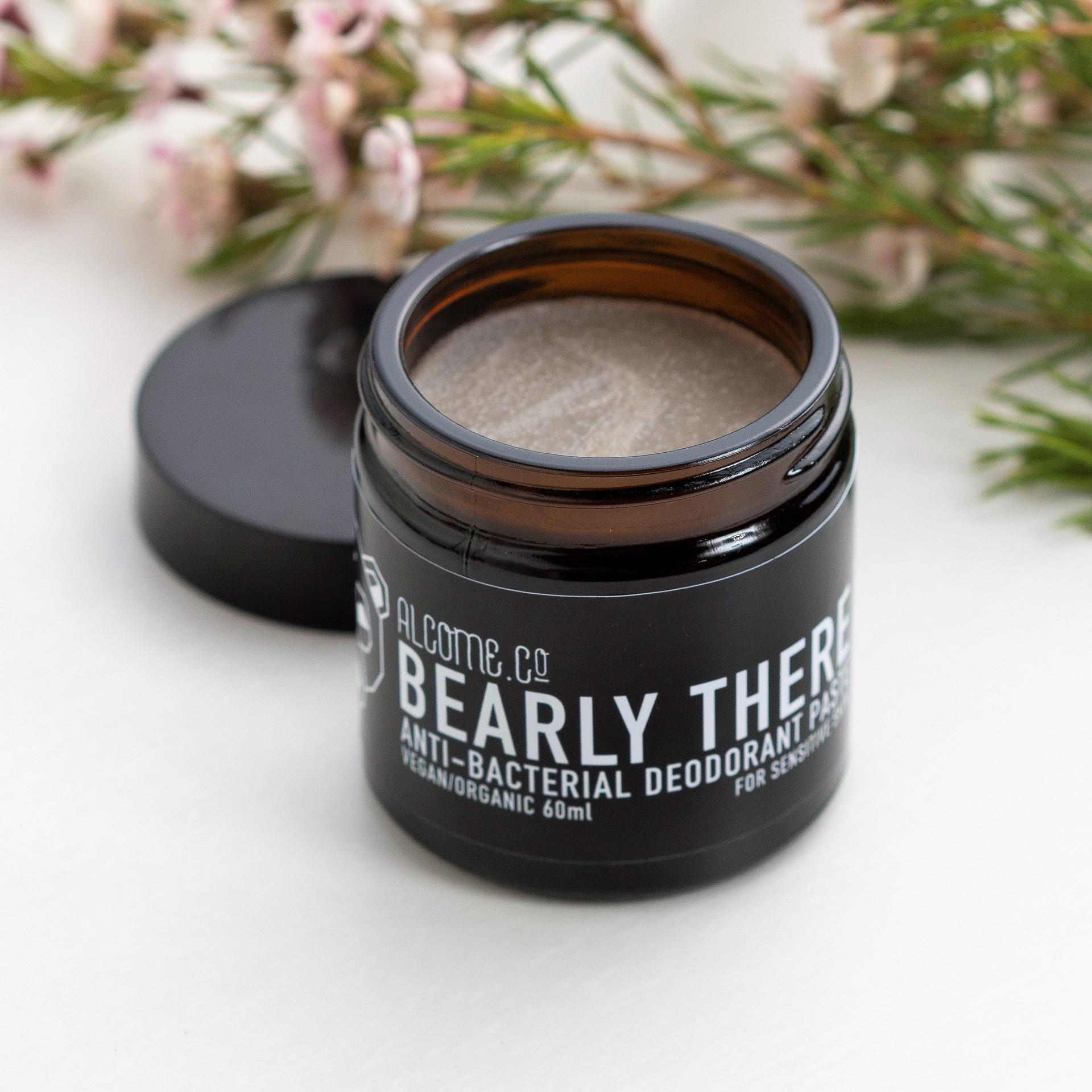 Organic Bi-Carb Free Deodorant / Bearly There / Sensitive Skin Types / Vegan Organic Natural