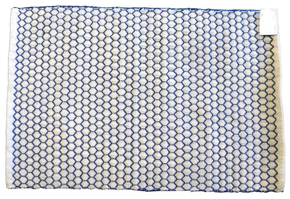 Indoor/Outdoor Rug- Honeycone Blue- 160 x 230