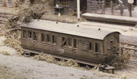 Ratio #R-501 Small Grounded Coach Body