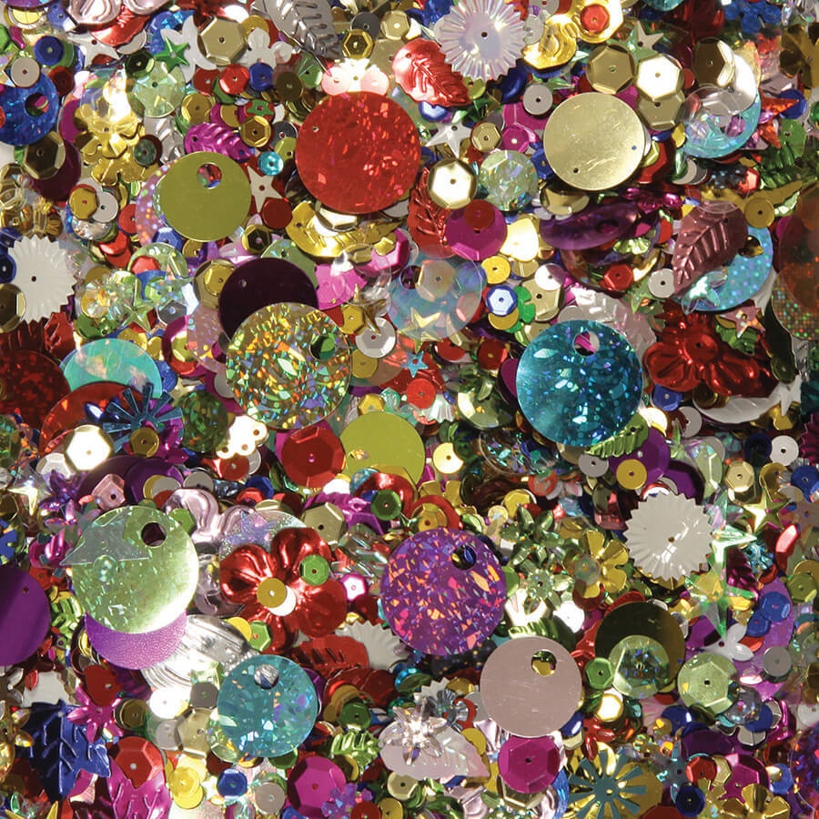 X DC CK 6113 SEQUINS AND SPANGLES
