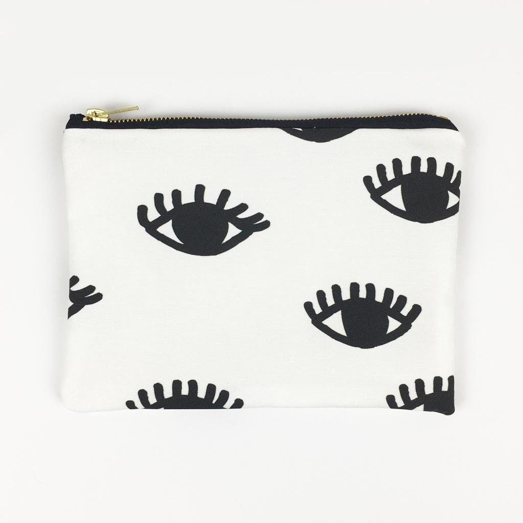 Eye Print Pouch