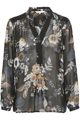Part Two Hella Blouse Big Flower Print