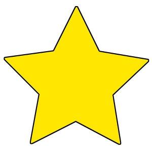 T 10038 RISING STAR CUTOUTS