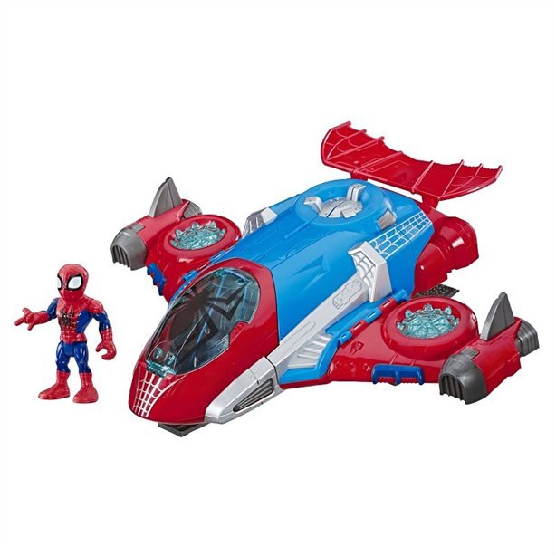MARVEL SUPER HERO ADVENTURES SPIDER-MAN JET