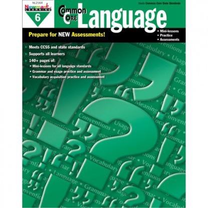 X NL 2164 COMMON CORE LANGUAGE GR. 6