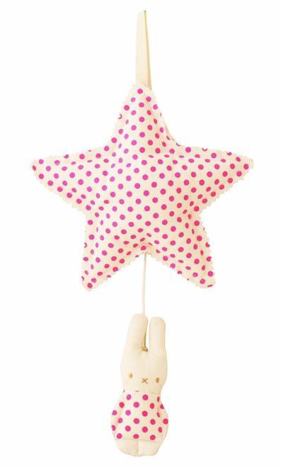Alimrose Remy Sleepy Time Star Musical - Pop Pink