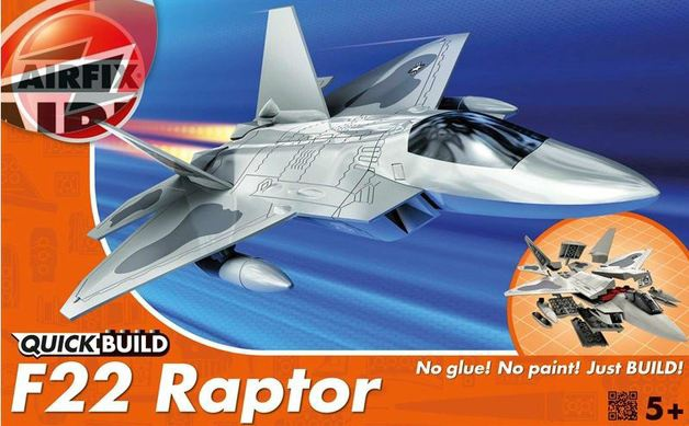 Airfix #J6005 Quick Build F-22 Raptor