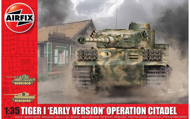 Airfix #A1354 1/35 Tiger I Early Version Operation Citadel