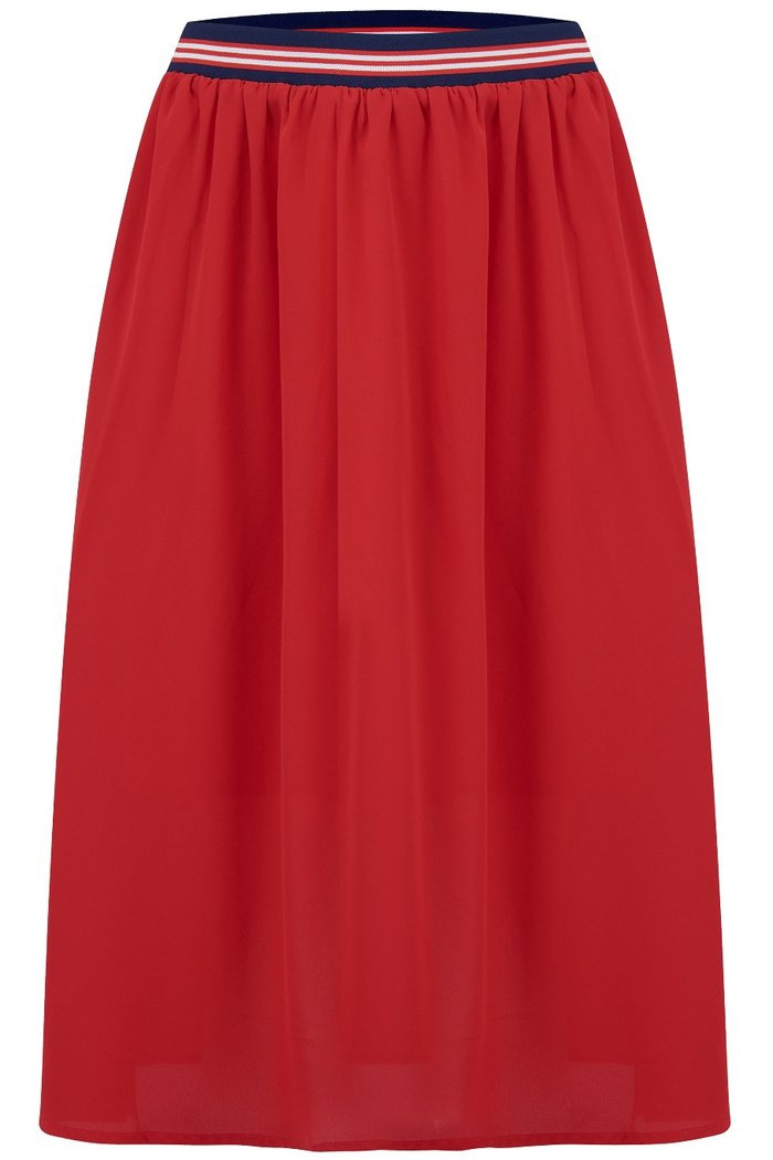 Gia Block Colour Midi Skirt