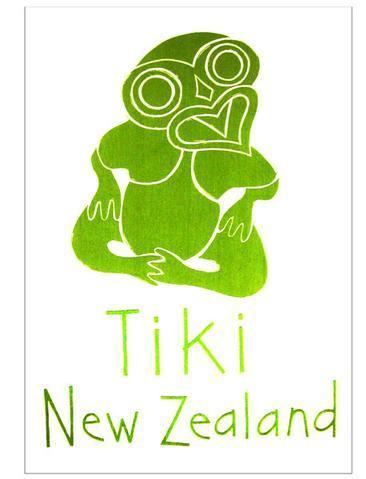 Tea Towel  Tiki