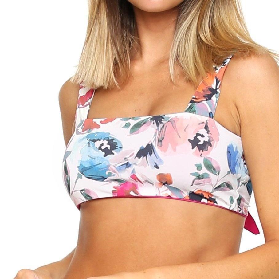 Siesta Convertible Bikini Top | Wild Floral