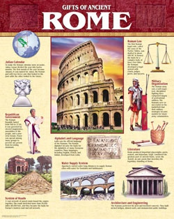 CTP 5559 GIFTS OF ANCIENT ROME CHART