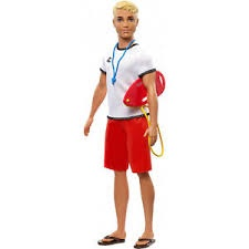 BARBIE 60TH CAREER LIFEGUARD