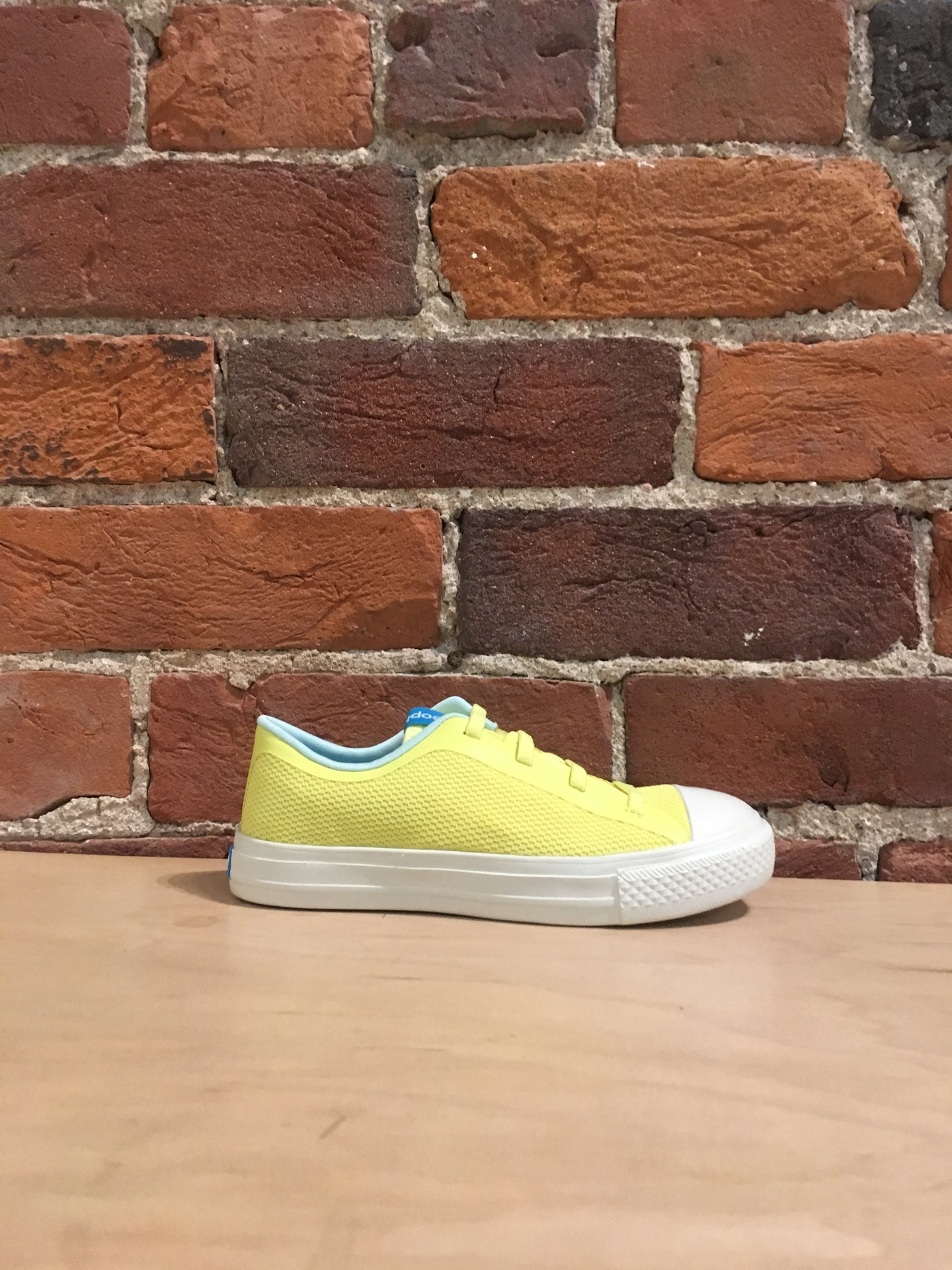 PEOPLE FOOTWEAR - THE PHILLIPS JUNIOR IN NUANCE YELLOW/PICKET WHITE