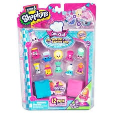 SHOPKINS SEASON 6 CHEF CLUB 12 PACK OF SHOPKINS