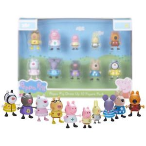 PEPPA PIG DRESS UP 10 FIGURE