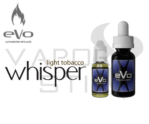 EVO Whisper Light Tobacco