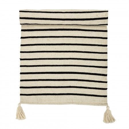 STRIPE W/TASSEL RUNNER