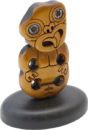Standing Kauri Carving Tiki 80mm