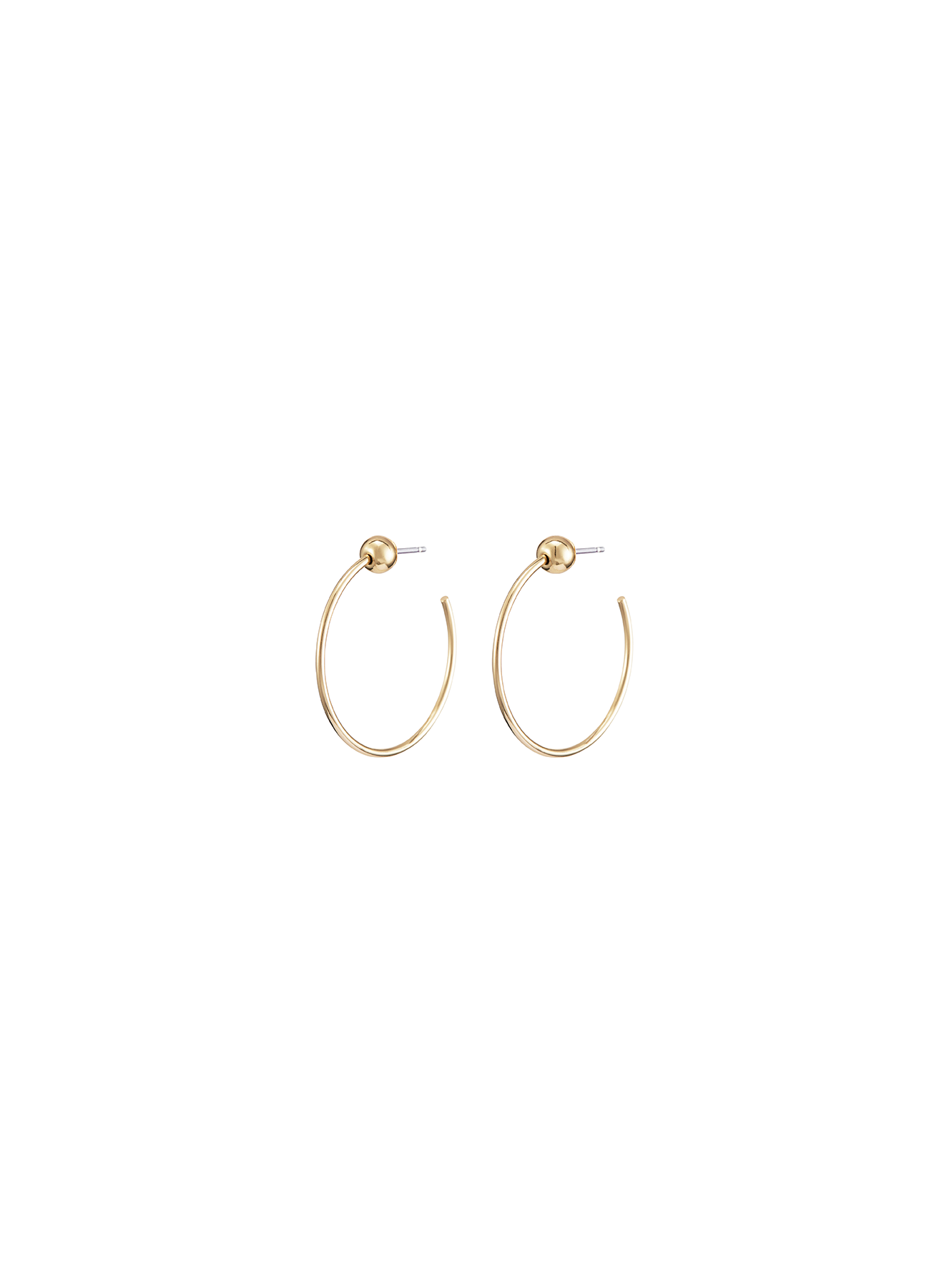 JENNY BIRD - ICON HOOPS XS IN GOLD