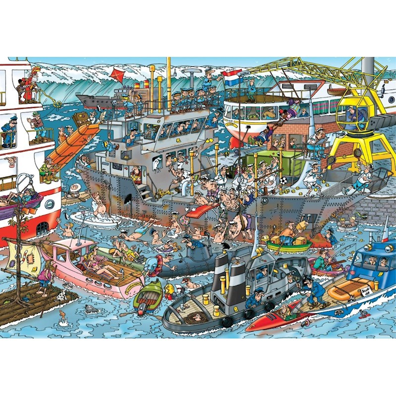 JAN VAN HAASTEREN SEA PORT 500 PCS