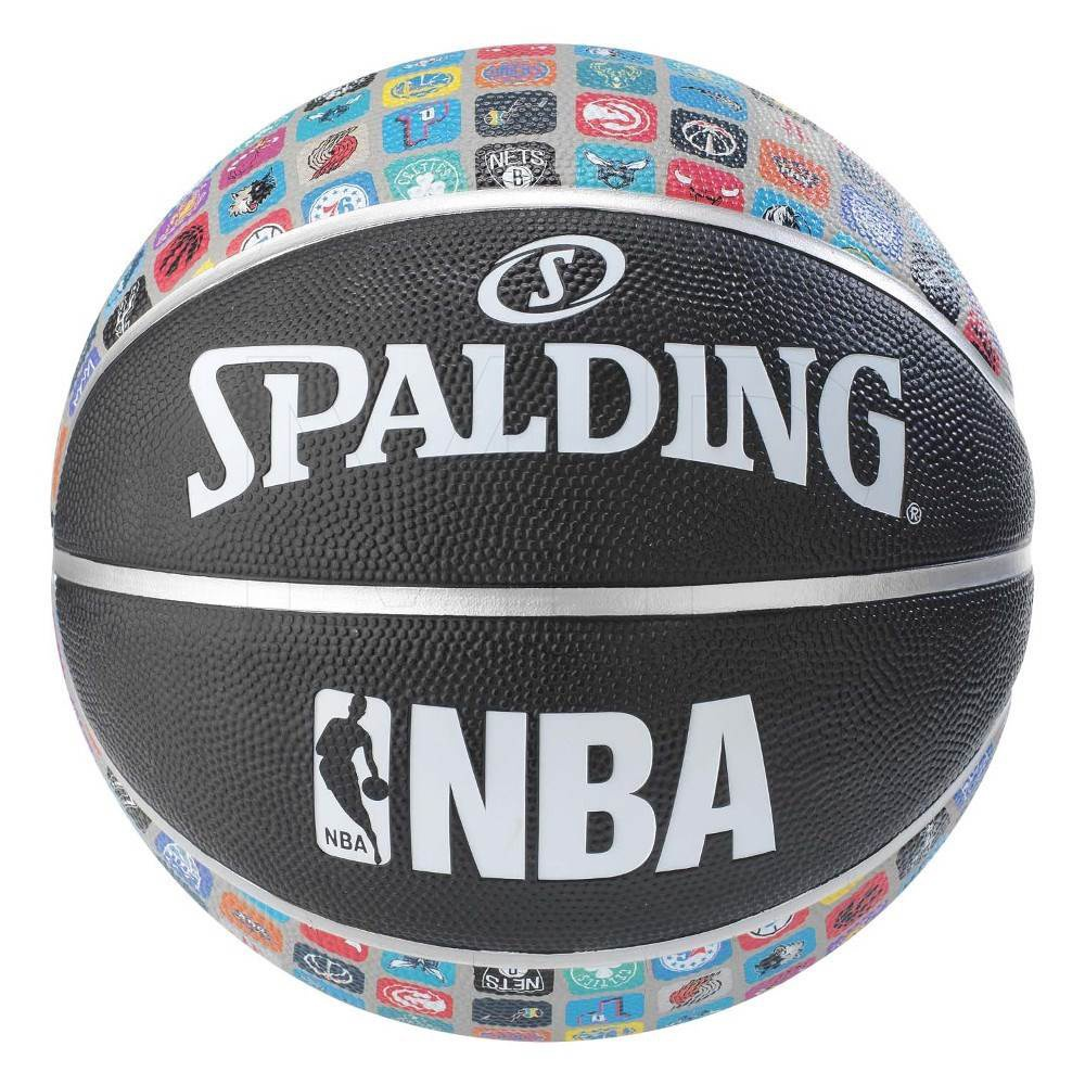 SPALDING NBA LOGO TEAMS SIZE 7