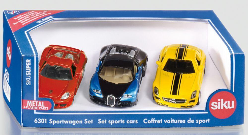 SIKU SPORTS CARS SET 3