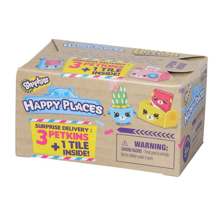 SHOPKINS HAPPY PLACES SURPRISE BOX SERIES 1