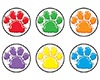 T 46195 PAW PRINTS SPOTS STICKERS