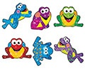 T 63027 FROG FUN SPARKLE STICKERS