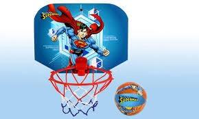 SUPERMAN BASKETBALL SET