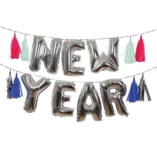 New Year Balloon Kit
