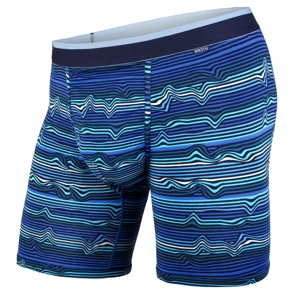 BN3TH CLASSIC TRUNK WARP STRIPE/BLUE