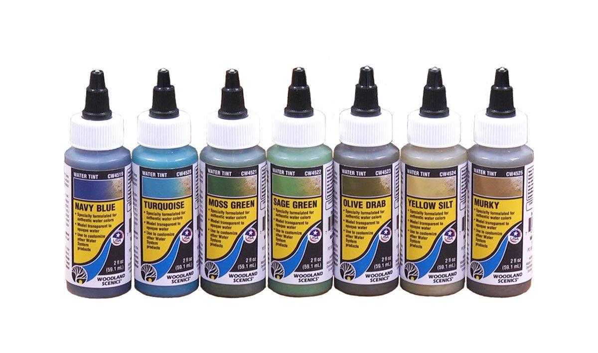 Woodland Scenics #CW4524 Yellow Silt (59.1 ml)