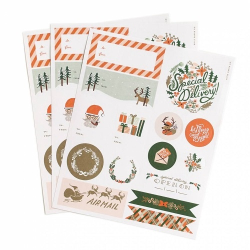 Holiday Gift Labels | 3 Sheets