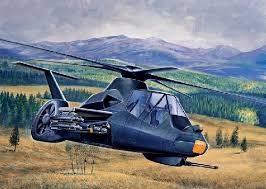 Italeri #71058 1/72 RAH-66 Comanche Starter Set