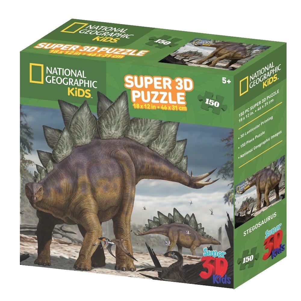 3D PUZZLE STEGOSAURUS 150 PCS