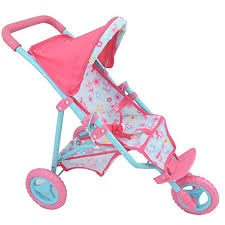 DOLL'S WORLD 3 WHEEL DOLLS STROLLER