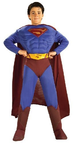 SUPERMAN MUSCLE CHEST CHILD S