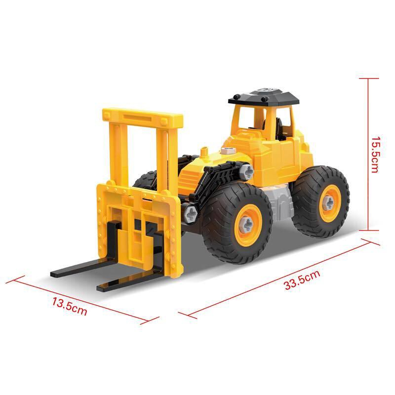 DIY CONTRUCTION TRUCK FORKLIFT