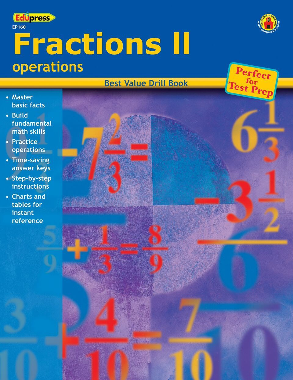 X DC EP 60160 FRACTIONS 2 OPERATIONS