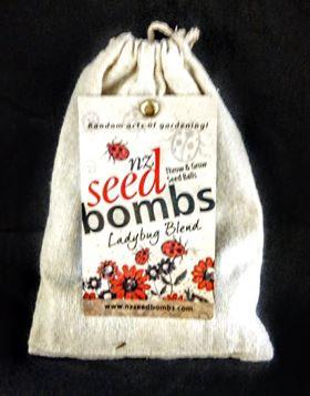 NZ Seed bombs - Ladybug Blend