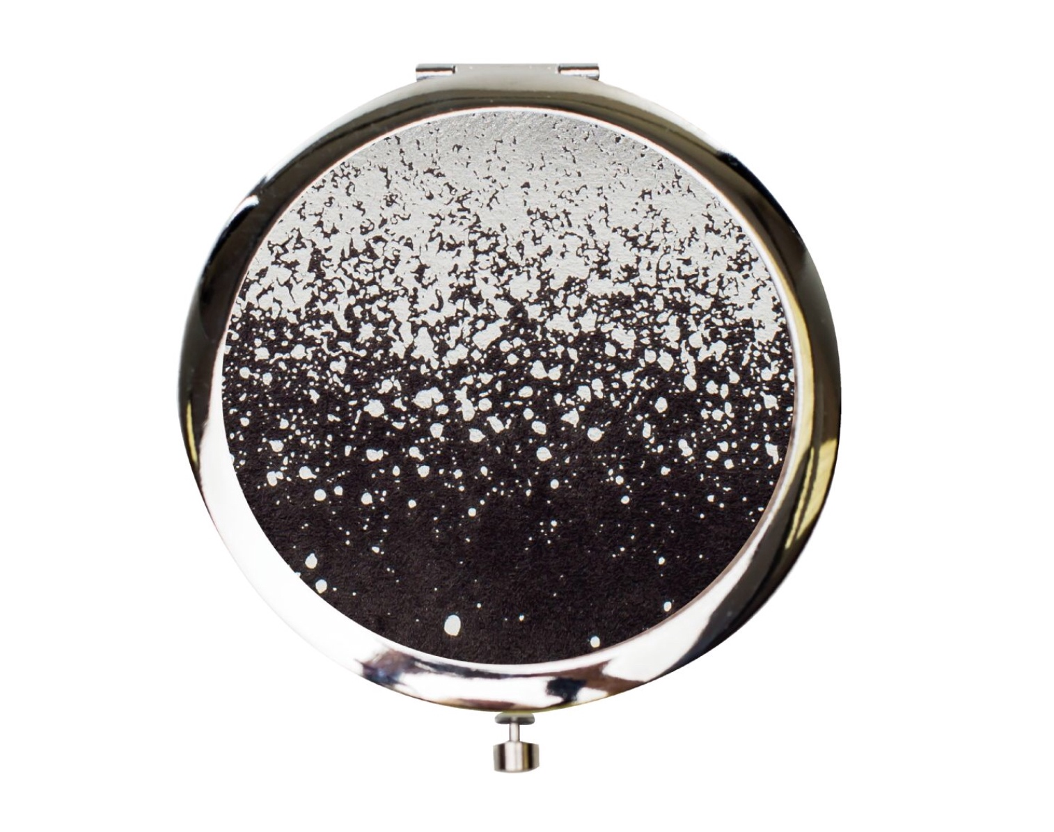 Velvet Compact Mirror